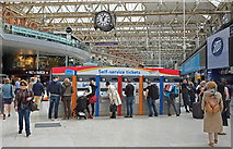 TQ3179 : At Waterloo Station by Anthony O'Neil