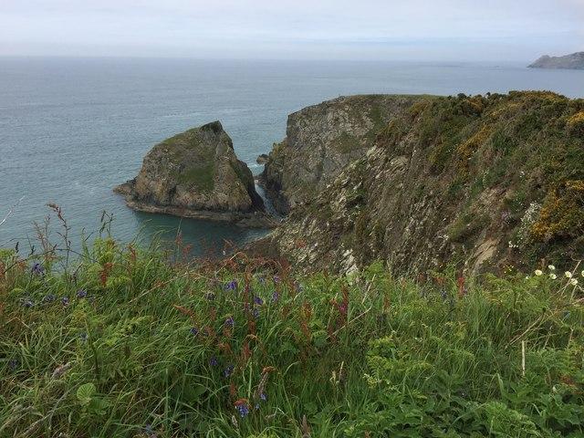 Headland above Abermawr
