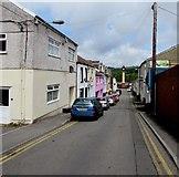 SO1408 : Down Market Street, Tredegar by Jaggery