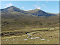 NH2174 : Allt a' Mhadaidh and the peaks of Sgurr Mor and Carn na Criche by Julian Paren