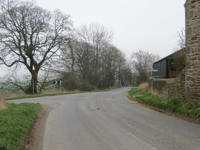 The junction of Nettlebed, Crane Row and Daniel Lane's at Morley Farm