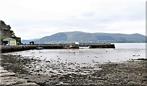 J1811 : The north breakwater at Carlingford by Eric Jones