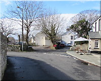 SS8178 : Junction of Pyle Road and Lougher Row, Nottage, Porthcawl by Jaggery