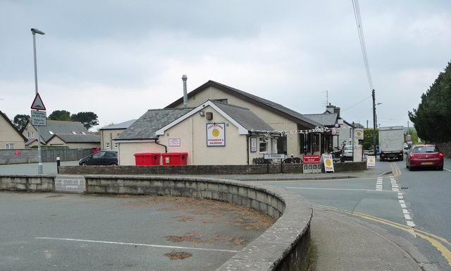 Retail centre of Morfa Bychan