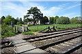 SU2764 : Footpath crossing the tracks by Des Blenkinsopp