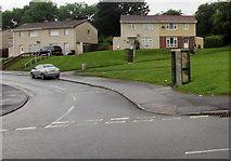 ST3091 : BT phonebox on a Malpas corner, Newport by Jaggery