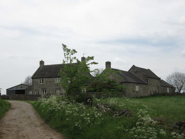 Farm beside Clough Lane, Upper Town