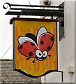 SJ8990 : Sign of the Polish supermarket by Gerald England
