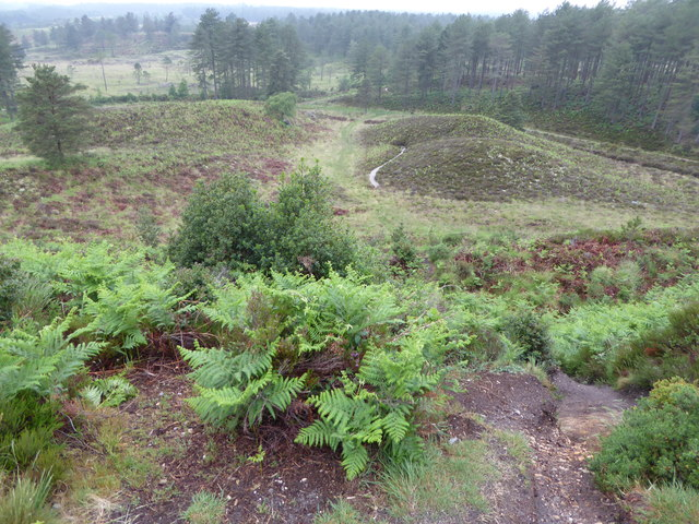 View from Woolsbarrow Hill Fort