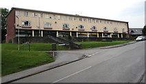 ST3091 : Russell Drive shops, Malpas, Newport by Jaggery