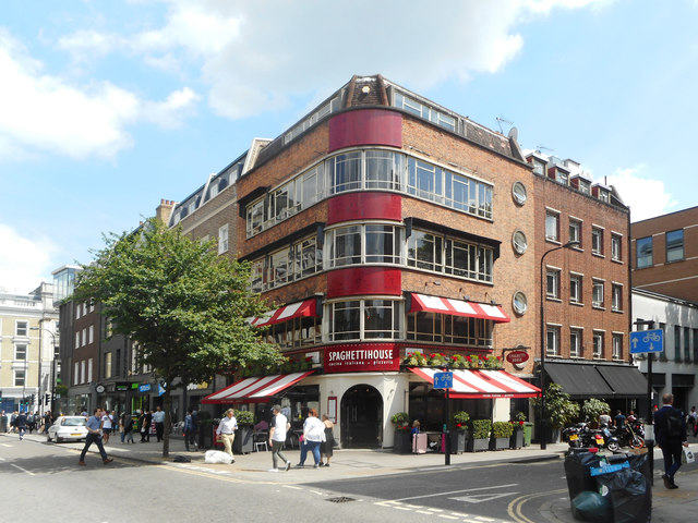 Spaghetti House, Goodge Street