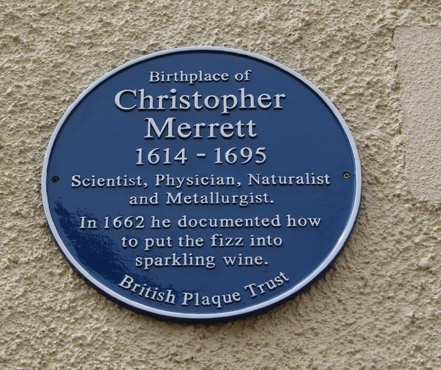 New blue plaque for Christopher Merrett