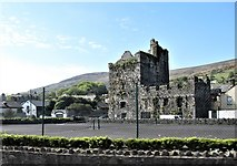 J1811 : Taaffes Castle, Carlingford, viewed from the R173 by Eric Jones