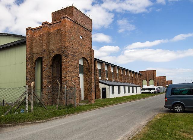 North Wales WWII defences: RAF Sealand, Garden City Industrial Estate - LAA Battery (1)
