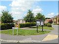 SU6658 : Parish Notices, Kirby Drive by Des Blenkinsopp