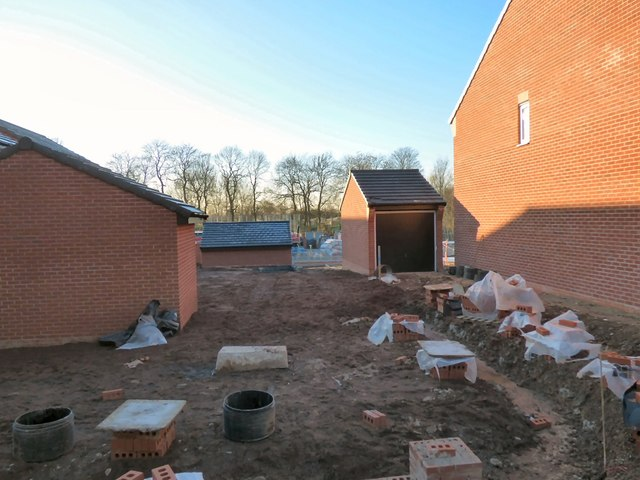 Construction work on Dukinfield Road