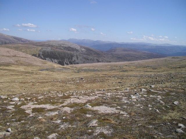 Above Coire an Lochan Uaine