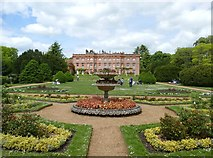 SU8695 : The parterre garden at Hughenden Manor by Graham Hogg