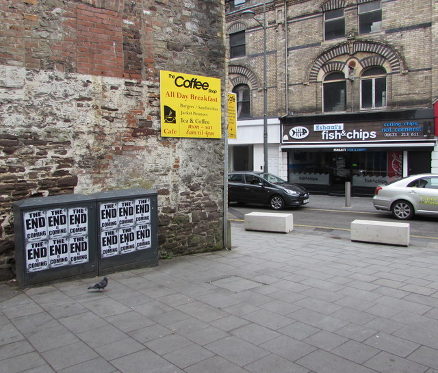 The End is Coming times twelve, Upper Dock Street, Newport