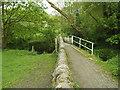 SE2836 : Footbridge over the Meanwood Beck by Stephen Craven