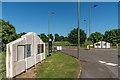 TQ1557 : Entrance to Leatherhead Business Park by Ian Capper