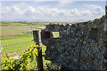 SH3368 : North Wales WWII defences: Ty Croes Camp, Anglesey - Loopholed Wall (3) by Mike Searle