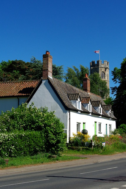 Cottages at Theberton
