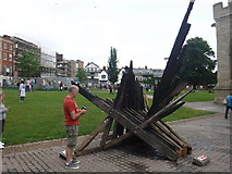 """SX9292 : Exeter : """"Hope and Renewal"""" Sculpture by Lewis Clarke"""