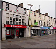 SS9079 : Principality branch in Bridgend town centre by Jaggery