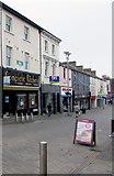 SS9079 : South side of Caroline Street, Bridgend town centre by Jaggery