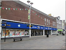SS9079 : Boots Pharmacy in Bridgend town centre by Jaggery