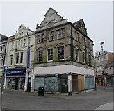 SS9079 : Derelict corner in Bridgend town centre by Jaggery