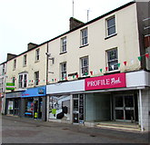SS9079 : Profile Pink and 22 Dental Practice in Bridgend town centre by Jaggery