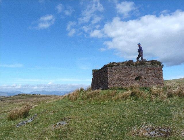 Whitelees Moor - Bombing Decoy Control Bunker