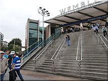 TQ1986 : Wembley Park London Underground station by Virginia Knight