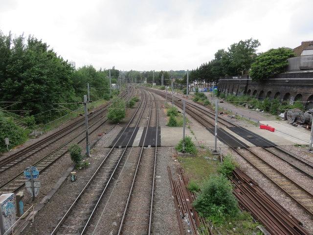 Railway Lines, Kentish Town
