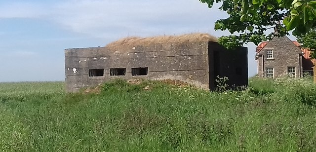 Pillbox at Saddlershall
