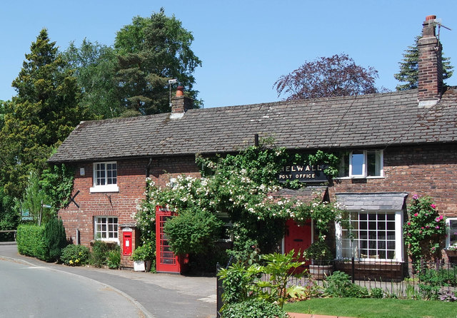 The old Post Office, Bell Lane, Thelwall
