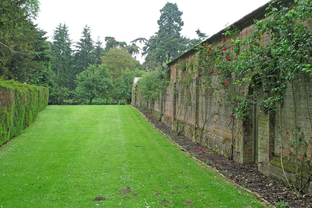 Grounds near walled garden at Sotterley Estate