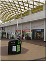 ST2995 : Ryman and Greggs in Cwmbran Shopping Centre by Jaggery
