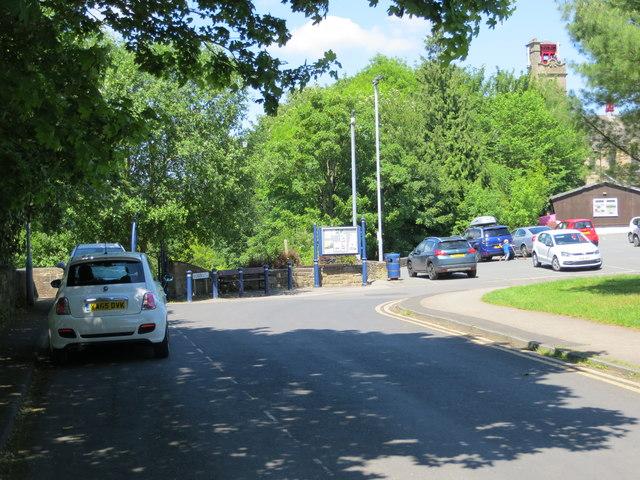 Queen Street in Bingley, West Yorkshire
