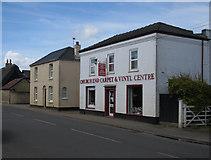 TL4568 : Church End Carpet & Vinyl Centre by Hugh Venables