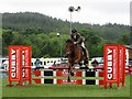 NZ0461 : Show-jumping at Northumberland County Show by Graham Robson