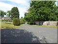 NJ6113 : Kirkyard roadway, Kirkton of Tough by Stanley Howe