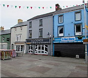 SS9079 : The Lounge and St Mary Stores, Dunraven Place, Bridgend by Jaggery