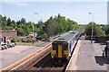 NY2548 : 156438 entering Wigton station - May 2017 by The Carlisle Kid