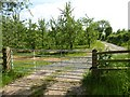 SO5263 : Gate into an orchard by Philip Halling