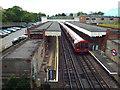 TQ4488 : Newbury Park station by Malc McDonald