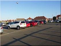 TG2142 : The beach car park, Cromer by David Howard