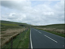 SD7983 : B6255 towards Hawes by JThomas